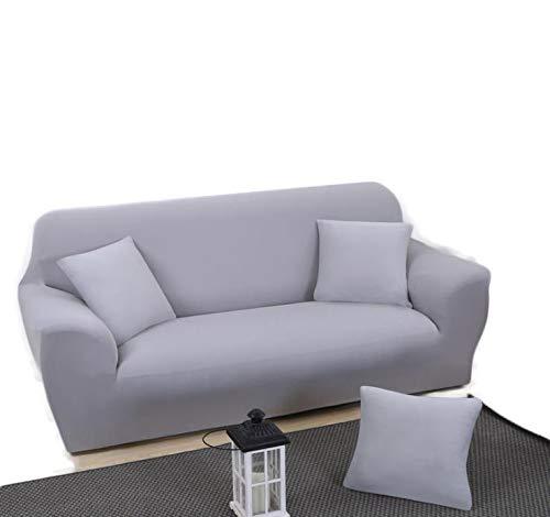 WLYX Sofá Cover Color sólido elástico Universal de la Cubierta del sofá con Todo Incluido sofá de la Tela Tape Bien enrollados Cubierta Antideslizante de Estilo Europeo Completo Universal Sofá Toalla