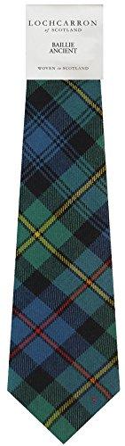 I Luv Ltd Gents Neck Tie Baillie Ancient Tartan Lightweight Scottish Clan Tie