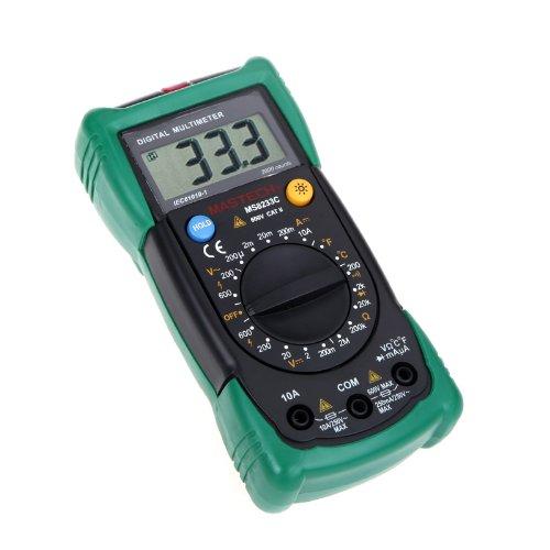 douself Multimetro digitale Rivelatore senza contatto Gamma MASTECH MS8233C