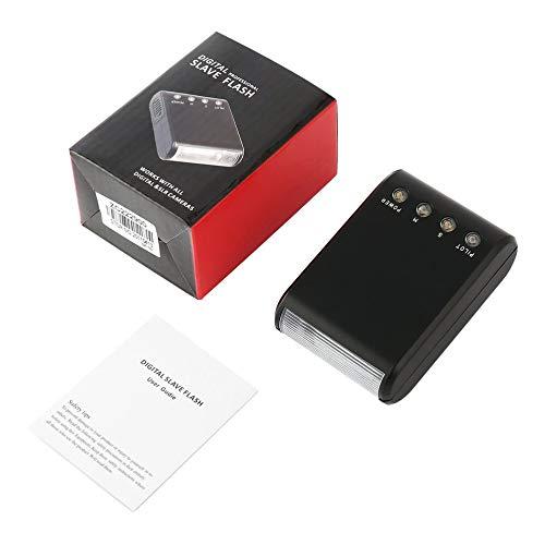 LeftSuper El más Nuevo estándar de Contacto automático de luz de Flash Esclavo Digital para cámara de Zapata Digital Caliente