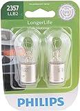 Philips Automotive Lighting 2357 LongerLife Miniature Bulb, 2 Pack (2357LLB2)
