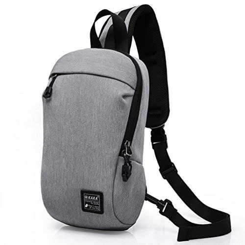 Zaino monospalla, 2018 Fashion Shoulder Sling Chest Bag Zaino da spalla Cross Body Bags per la...