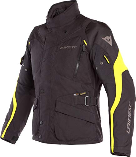 DAINESE 1654610 Giacca Tempest 2 Dry Fluor 52, Giallo