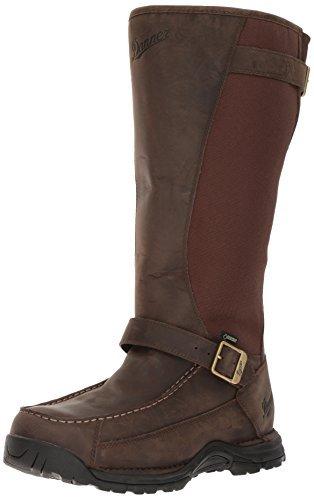 Danner Men's Sharptail Snake Boot 17 Inch Dark Brown Hunting Boot , 10.5 D(M) US