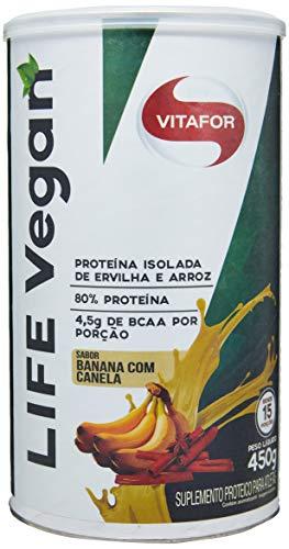 Life Vegan - 450g Banana com Canela, Vitafor