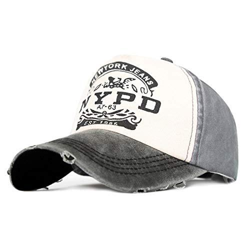 PPSTYLE Casquette De Baseball Femmes Hommes Casual Hip Hop Snapback Chapeaux Unisexe Laver Cap Mode Sport Hat Os-E