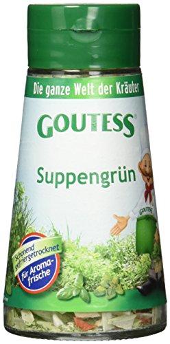 Goutess Suppengrün, gefriergetrocknet, 25 g