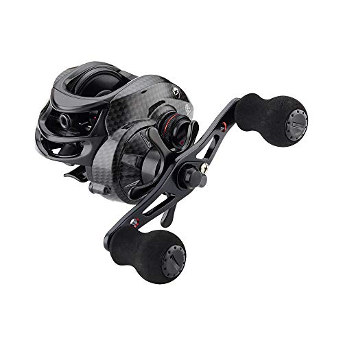 FISHDROPS Baitcaster Reels Magnetic Brake System Bait Caster Reel High Speed Gear Ratio 7.0:1 Ultra Smooth Low Profile Baitcasting Fishing Reel