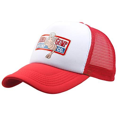 Bubba Gump Shrimp Co Cap. Truck Baseball Cap Sport D'été Snapback Chapeau Forrest Gump Chapeau Réglable pour Femmes Hommes