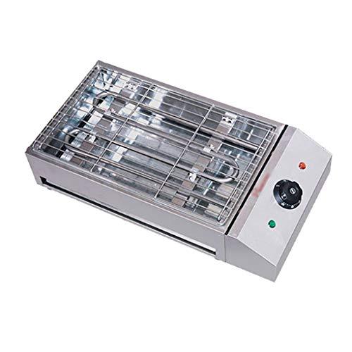 LPGY Elektrogrill Barbecue-Grill, Edelstahl-Tischgrill Mit Einstellbarer Temperaturregelung, Elektrische Party-Grill-Maschine - 2800W / 3000W