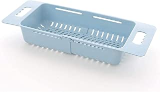 Retractable Plastic Sink Drain Rack