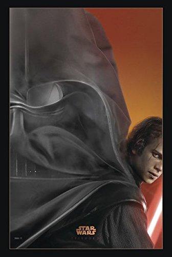 Super Cool Revenge Of Sith Skywalker To Vader Poster