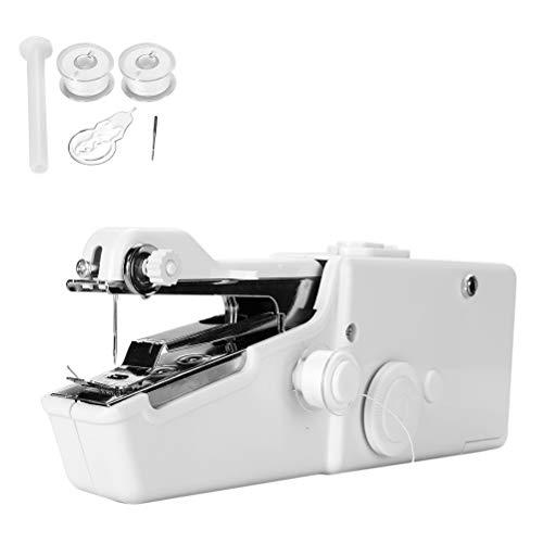 Kenyaw Naaimachine, Draagbare Hand Naaimachine Mini Handheld, Voor Stof Kleding Kinderdoek Gordijn Diy Huishoudelijke En Reizen Gebruik