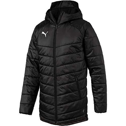 PUMA Herren Liga Sideline Bench Jacket Jacke, Black White, XL