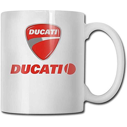 Ducati-Kaffeetasse-Keramik-Schalen-Geschenk für Männer und Frauen, die Becher lieben