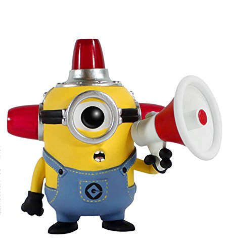 Funko  Pop Movies: Despicable Me 2 - Fire Alarm Minion Action Figure