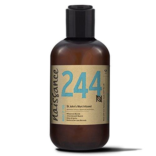 Naissance Aceite Macerado de Hierba de San Juan 250ml - 100% natural, vegano y no OGM