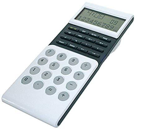 Taschenrechner LCD Display Schulrechner Tischrechner Bürorechner Rechenmaschine Rechner mit Zeitangabe Büro