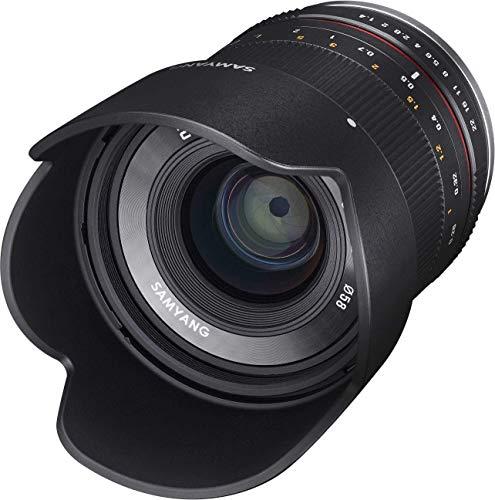 Samyang 21/1,4 Objektiv APS-C Sony E manueller Fokus Fotoobjektiv, Weitwinkelobjektiv schwarz
