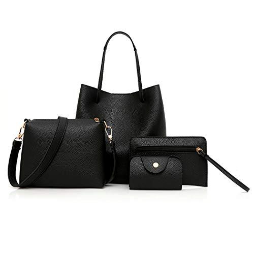 Fashion Women Artificial Leather Shoulder Bag Handbag Kit Shoulder Bags