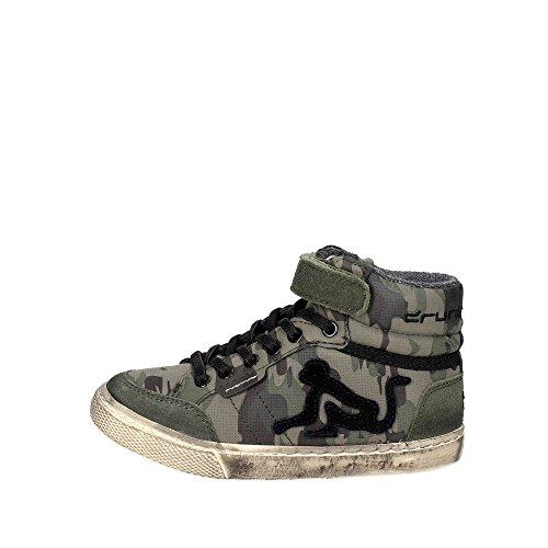 DrunknMunky Jungen Boston Camu Hohe Sneaker, Grün (Military Green K19), 32 EU
