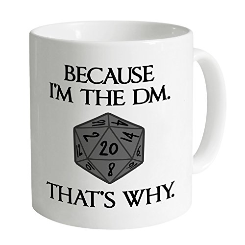Shotdeadinthehead Inspired by Dungeons And Dragons - I'm The DM Tazza