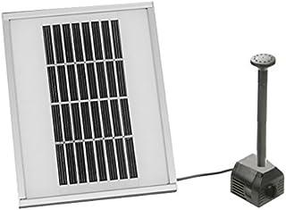 /Bomba solar para estanque 20/W hmax.: 1360l//H m/áximo Altura: 2,10/m para jard/ín o Estanque Fuente Agora-Tec /® at/