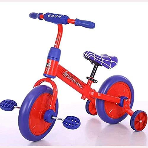1yess Modell Kids Dreirad Kinder Pedal Fahrrad 2-6 Jahre alt Mädchen Fahrrad Hoher Kohlenstoffstahl Babywagen B, Farbe: D Puzzle (Farbe: B) 8bayfa (Color : D)