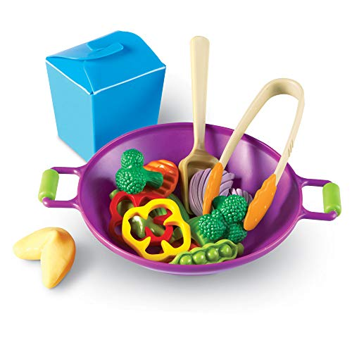 Learning Resources New Sprouts WokSet, Vorschul Rollenspielzeug