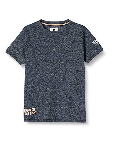 Garcia Kids Jungen M03404 T-Shirt, Blau (Dark Moon 292), 152 (Herstellergröße: 152/158)