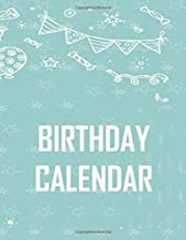 BIRTHDAY CALENDAR: birthday calendar 2020!!! You Can Use This To Record FAmily's and Friends Birthdays.so you dont forget .Why not make them a Birthday card when it's their birthday !!!!!