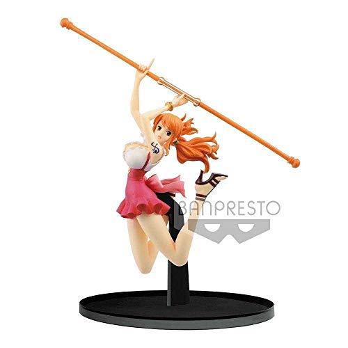 Banpresto One Piece Estatua BWFC Nami, Multicolor (BANP82973)