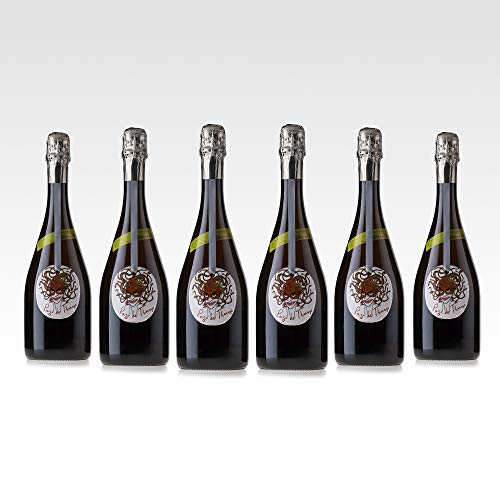 Pago de Tharsys Rosado Brut Nature Reserva Organic - Cava Rosé Reserva Brut Nature Ecológico - Caja de 6 botellas x 750ml