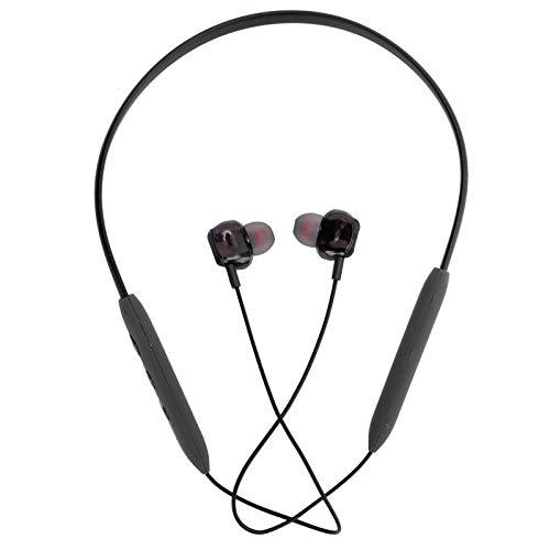 Nekband Oordopjes, Draadloos Bluetooth5.0 Oortelefoon Nek Ophangende Headset Sport Waterdichte in-ear oordopjes(zwart)