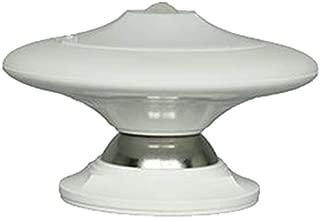 Finduat [30 LED] USB Rechargeable Motion Sensor Night Light, UFO LED Infrared Human Body Induction Lamp 360 Degree Rotation Intelligent Creative Night Light Lamp Wall Lamp(Warm White)