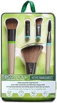 EcoTools Daily Essentials Face Kit Interchangeables Makeup Brush Set