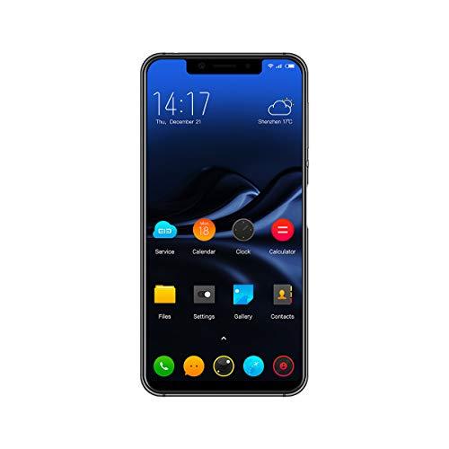 Elephone A4 Mobile Phone - Android 8.1, MT6739 Quad Core Dual, 5.85 inches, SIM 3GB RAM 16GB ROM, 3000mAh Fingerprint - Black