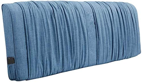 OYY Manufacture Cojines Almohada de Cama sin cabecera Lectura Tapicería para Soporte de Rollo de Cuello Suave Grande Removible Lavable, 5 Colores (Color : C, Size : 150x10x58cm)