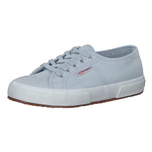 Superga 2750 COTU Classic Sneakers, Zapatillas Unisex Adulto, Azul (Blue Lt Sky 354), 48 EU