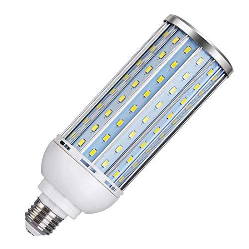 Akaiyal 40W E27 LED Mais Lampe Studio Glühlampe Taglicht 5500K Schraube ES Tageslichtlampe Aluminium-Gehäuse für Fotografie Video-Foto-Beleuchtung 1-Stück MEHRWEG