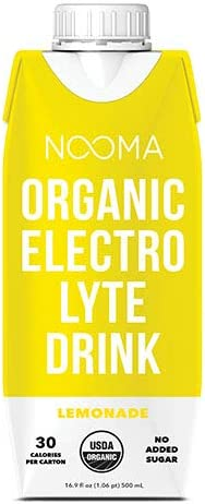 NOOMA Organic Electrolyte Sports Drink Naturally Hydrating Coconut Water Base Certified Keto product image