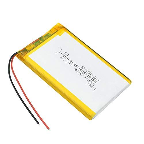 YUJNH 3.7v Li Po BateríAs De Iones De Litio 3 7 v Batería Recargable De PolíMero 4000mah para Mp4 Mp5 Tablet GPS DVD PDA Mid BT Altavoz 1Pc