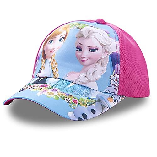 TRRY Mädchen Premium Baseball Cap Sommer Kinder Sonnenhüte, Boy Girl verstellbare Baseball Cap Pink