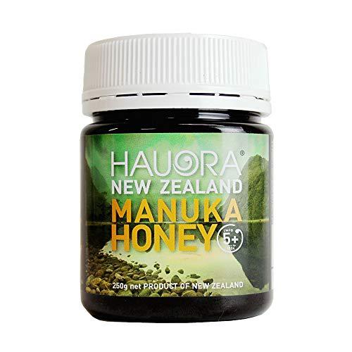 【モンドセレクション受賞】はちみつ HAUORA マヌカハニー UMF5+(MGO97〜102相当 MGO100クラス)500g ニュージーランド産 非加熱 蜂蜜