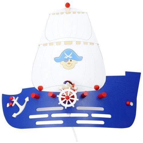 Con diseño de barco pirata 1er lámpara de Elobra 125793