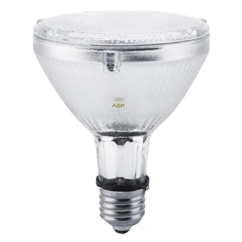 Lámparas de Calcio, Lámpara Solar para Tomar el Sol Bombilla Emisor de luz Efectivo UVA UVB Luz Ultravioleta y Calor para Reptiles Terrario de Alta Humedad Configuraciones 220V(70W)