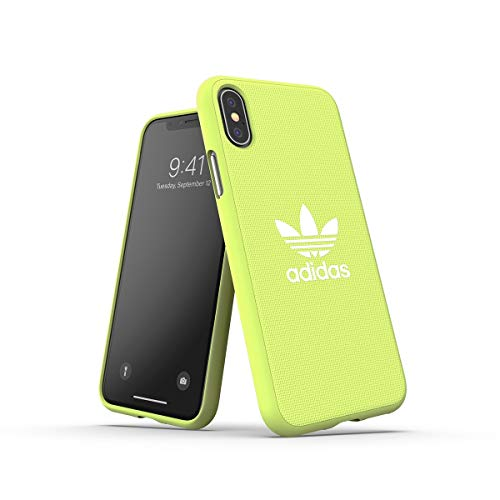 adidas Originals Funda iPhone X/XS Fabric Molded - Hi-Res Yellow