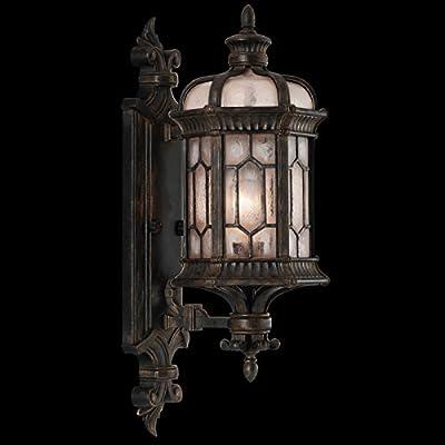 Fine Art Lamps 413781, Devonshire Outdoor Wall Sconce Lighting, 60 Total Watts, Bronze