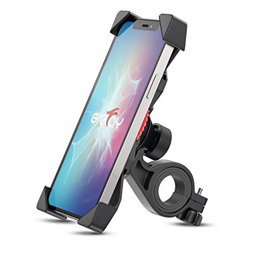 Grefay Bike Phone Mount Universal Bicycle Motorcycle Cell Phone Holder for 3.5-6.5 inch Smartphone