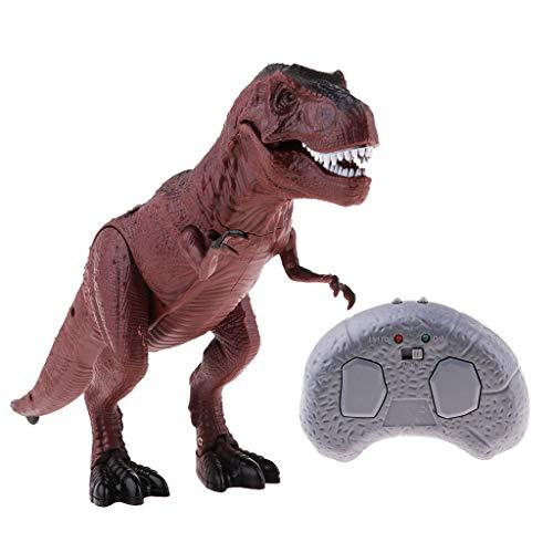 B Blesiya Juguete de Control Remoto Modelo de Dinosaurio de Simulación Regalo para Niño - T-Rex